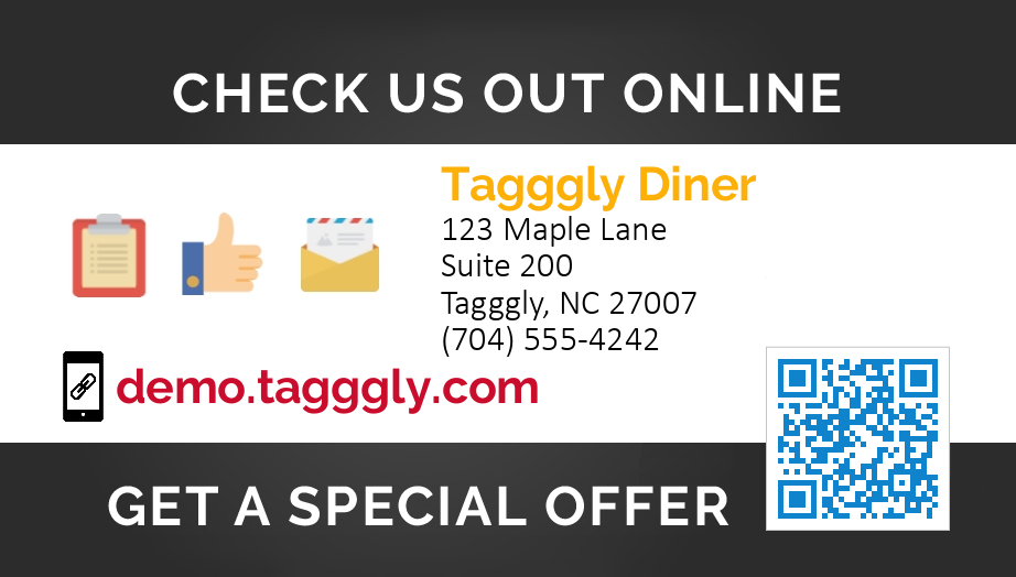 Get more Google reviews and Yelp reviews with Tagggly review request cards